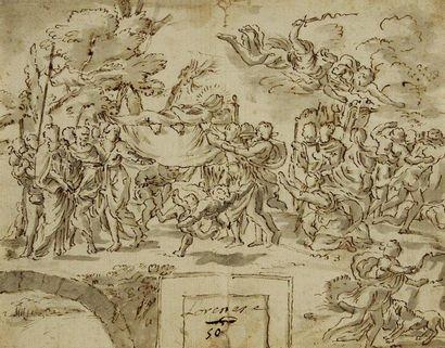 Charles MELLIN (Nancy vers 1598 - Rome 1649)