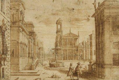 Attribué à Dominique BARRIERE (Marseille 1610 - Rome 1678)