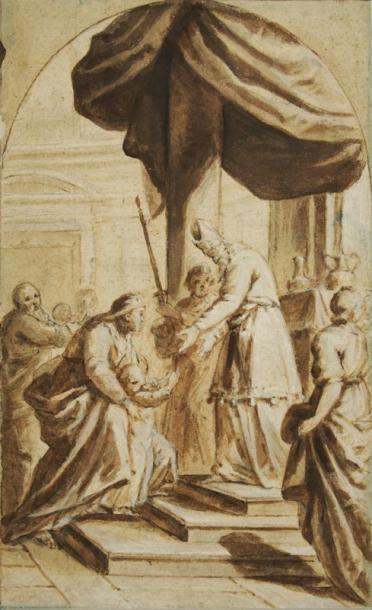 Attribué à Horace LEBLANC (né à Lyon, actif entre 1610 - 1635)