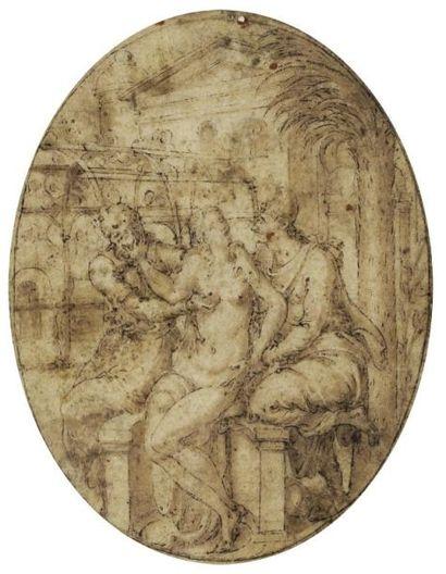 Attribué à Etienne DELAUNE (Milan vers 1518 - Strasbourg 1583)