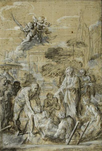 Entourage de Sébastien BOURDON (Montpellier 1616 - Paris 1671)