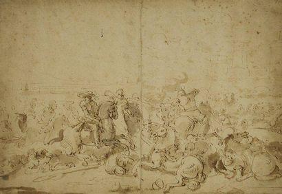 Jacques COURTOIS dit le Bourguignon (Saint Hyppolite 1621 - Rome 1676)