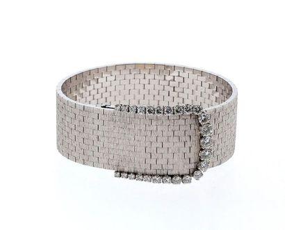 ETERNA Montre bracelet de dame en or gris...