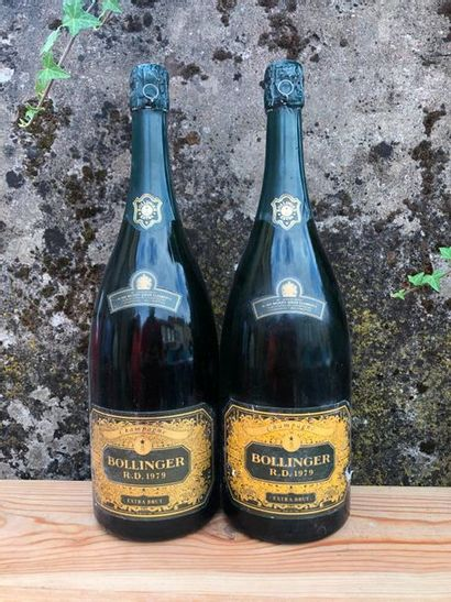 2 magnums CHAMPAGNE