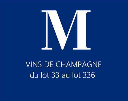 VINS DE CHAMPAGNE du lot 33 au lot 336