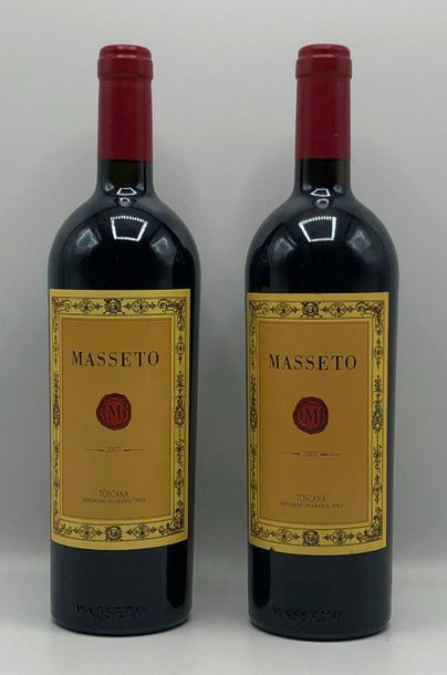 2 bouteilles TOSCANA