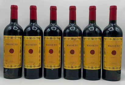 6 bouteilles TOSCANA