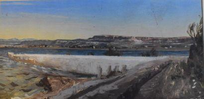 Ernest SEBILLE (1838-1913)  Vitrolles et...