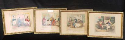 PANNETIER, lithographie, d'après Grandville...
