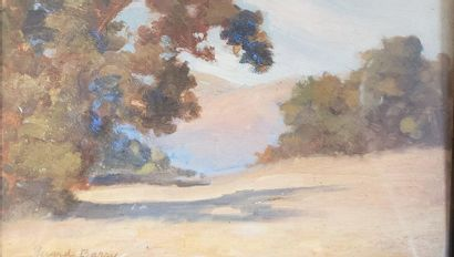 Gerard BARRY  Santa Barbara, California  Huile...