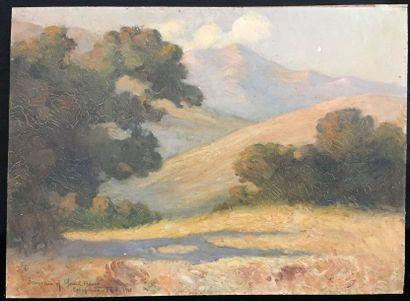 Gerard BARRY (1864 - ?)  Souvenirs of California,...