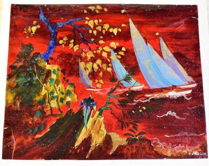 Pierre PAULIN (1907-2007) - decorator active...