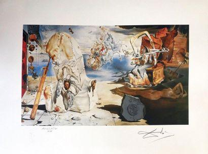 According to DALI (1904-1989)  Print  Signed...