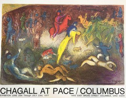 Marc CHAGALL (1887-1985)  Affiche historique...