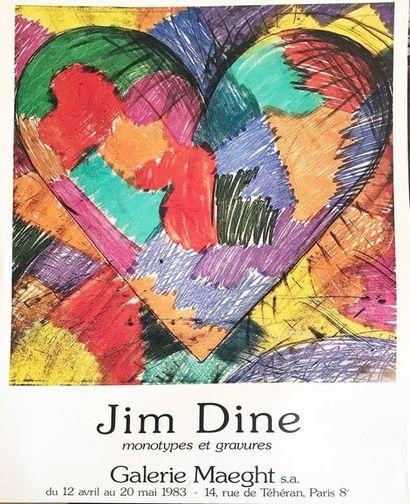 Jime DINE (1935)  Affiche de l'exposition...