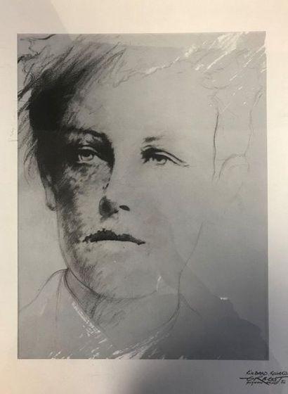 Ernest PIGNON-ERNEST (1942)  « Rimbaud Regards...