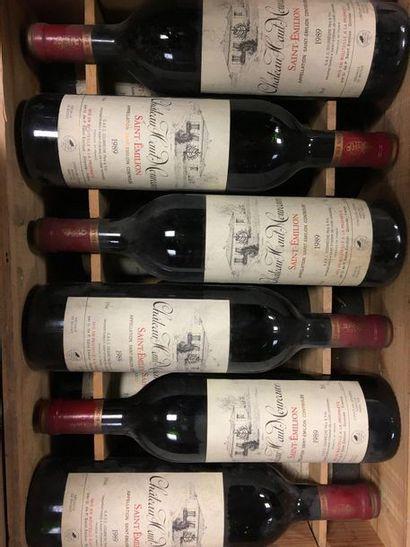 12 bouteilles de Sainit Emilion, Château...