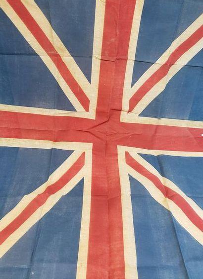 Drapeau de l'Union Jack en tissu, couleurs...