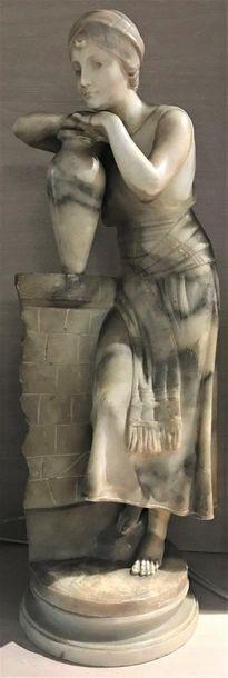 Guglielmo PUGI (c.1850-1915)  Jeune porteuse...