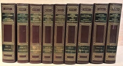 Couvelaire, Lemierre, Lenormant  Medical-surgical practice  in nine volumes
