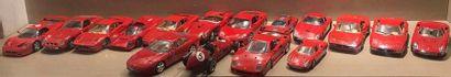 FERRARI  Lot de 16 voitures de collection...