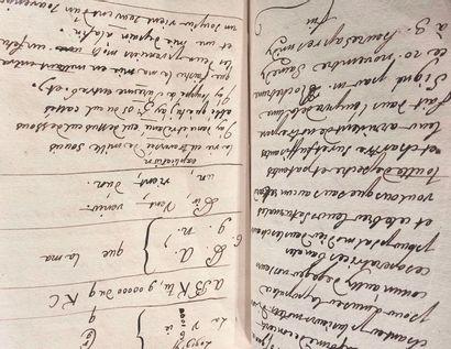 Manuscrit XVIIIe siècle. Recueil de différentes...