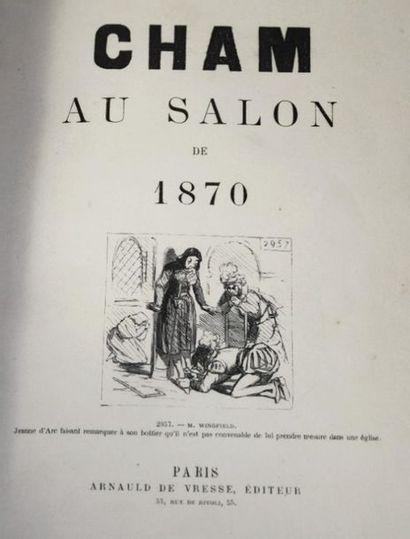 CHAM (Amédée de Noé, dit). Cham au salon...
