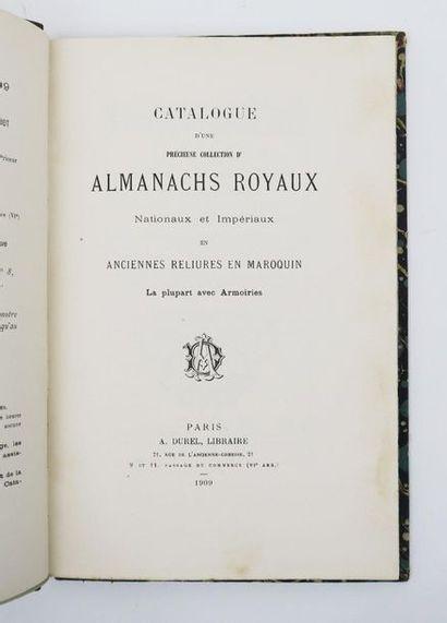 § [Bibliophilie - Catalogue de vente]. Catalogue...