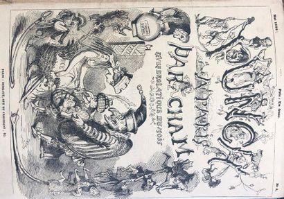 CHAM (Amédée de Noé, dit). Punch à Paris....