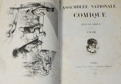 CHAM (Amédée de Noé, said) & LIREUX (Auguste). Comic National Assembly. Paris, Michel...