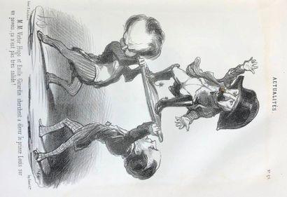 DAUMIER (Honoré) & VERNIER (Charles). Actualités....