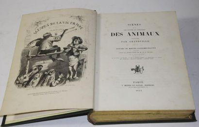 GRANDVILLE (Jean Ignace Isidore Gérard dit). Scènes de la vie privée et publique...