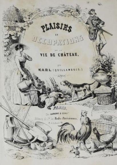 QUILLENBOIS (Charles-Marie de Sarcus, dit)....