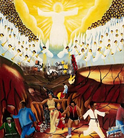 Pierre BODO (1953-2015) Apocalypse 6:12-17,...