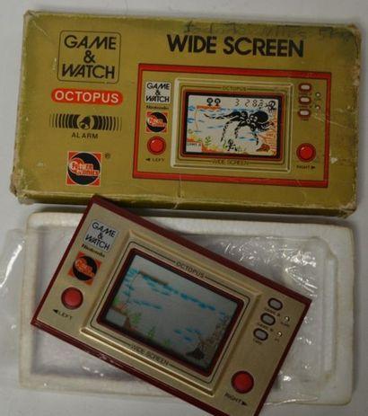 Game Watch WIDE SCREEN «Octopus» (OC-22)...