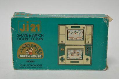 Game Watch DOUBLE ECRAN J.i21 «Green House»...