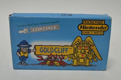 Game Watch POCKETSIZE «GOLD CLIFF» (MV-64)...
