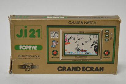 Nintendo Game Watch GRAND ECRAN J.i21 «Popeye»...