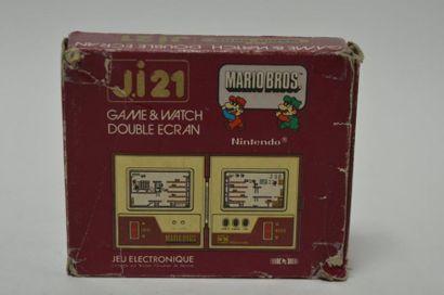 Game Watch DOUBLE ECRAN J.i21 «Mario Bros»...