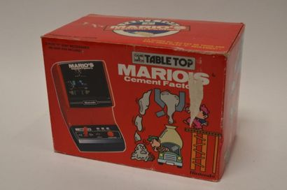 Game Watch TABLE TOP «Mario's Cement Factory»...