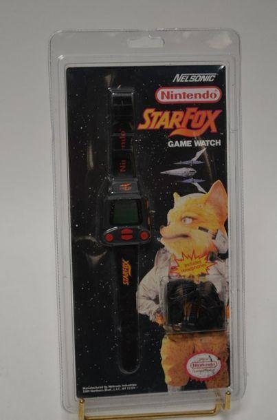 Nintendo WATCH (montre) StarFox (avec écouteurs)...