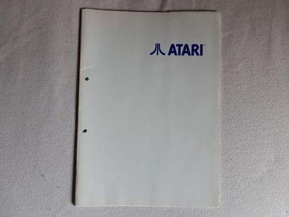 Press Kit : ATARI documents suisse Rare press...