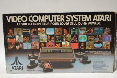 Console ATARI 2600 première édition BOIS...