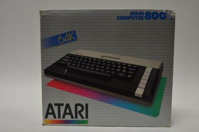Ordinateur ATARI 800 XL En boite, très bon...