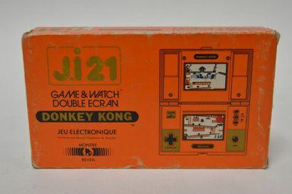 Game Watch DOUBLE ECRAN J.i21 «Donkey Kong»...