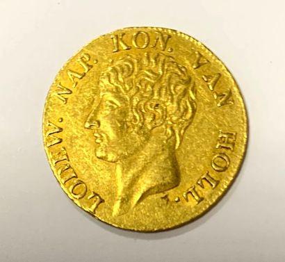 Hollande – Louis Napoléon  Une monnaie d'1...