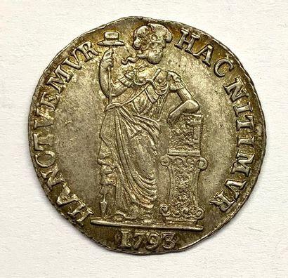 Pays-Bas – West Friesland  1 Gulden 1793...