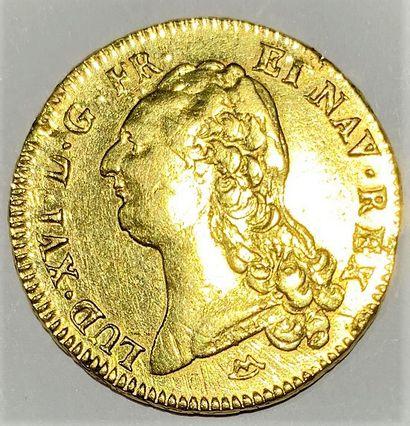France - Louis XVI  Un double Louis aux écus...
