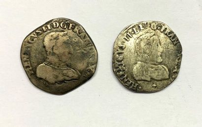 France – François II  Monnayage au nom d'Henri...