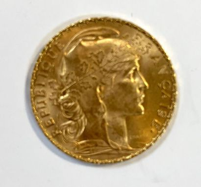 France _ Troisième République  Une monnaie...